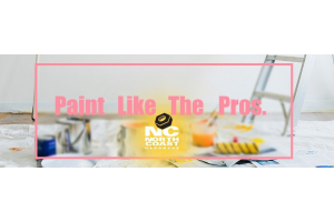 Painting with Emulsion Paint