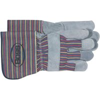 GLOVE LEATHER PALM UNLINED LRG