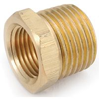 BUSHING HEX BRASS 1/4MX1/8F