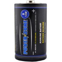 BATTERY ALKALINE CARD/4 1.5V D