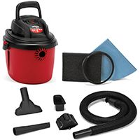 WET/DRY VAC 2.5 HP 2.5 GAL