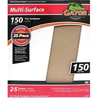 SANDPAPER AL OX 9X11IN 150GRT