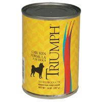 DOG FOOD CHKN CAN TRIUMPH 14OZ