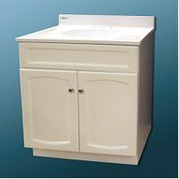 BATHROOM VANITY WHITE 30X18