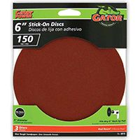 6IN 150GRIT PSA DISC 3PK