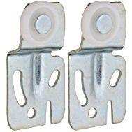National Hardware N344-879 Adjustable Sliding Door Hanger, 60 lb Weight Capacity, Plastic/Steel