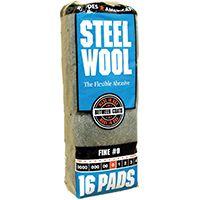 PAD STEEL WOOL 0 FINE