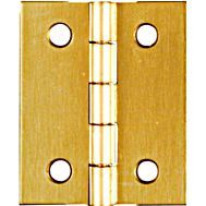 National Hardware N211-359 Decorative Broad Hinge, 5 lb Weight Capacity, Brass