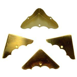 National Hardware V1851 Series N213-447 Corner Brace, 1-3/4 in L, Brass