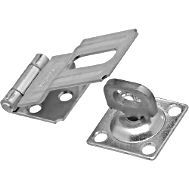 National Hardware V37 Series N348-250 Safety Hasp, 3-1/4 in L, Stainless Steel