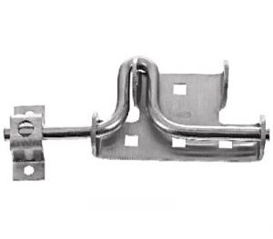 National Hardware N342-659 Door/Gate Latch, Stainless Steel