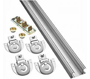 National Hardware N343-087 Bypassing Door Hardware, Nylon/Steel, Galvanized