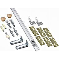 National Hardware N343-731 Folding Door Hardware Set, Steel, For Bi-Fold Doors