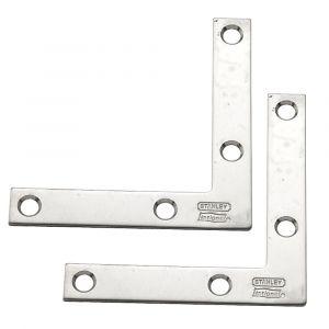 National Hardware V417 Series N348-334 Corner Brace, Stainless Steel