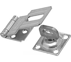 National Hardware V39 Series N348-854 Safety Hasp, 4-1/2 in L, Stainless Steel