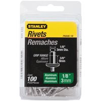 RIVET 1/8X3/8IN ALUMINUM 100PK