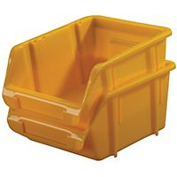 STORAGE BIN SMALL YELLOW