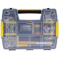 STANLEY STST14021 Tool Storage Organizer, 8-1/2 in W, Plastic