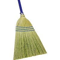 Quickie 900-6 Outdoor Broom, Corn Fiber Bristle