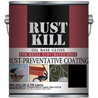 PAINT RUST KILL GLOSS BLACK GA