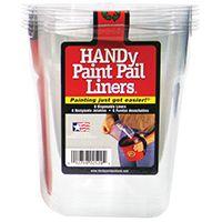 PAIL PNT HNDY 5X5X6IN PLST