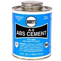 CEMENT ABS BLACK 16OZ