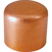 CAP COPPER TUBE 1IN