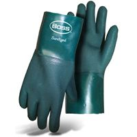 GLOVE PVC ROUGH SND GRP 12IN L
