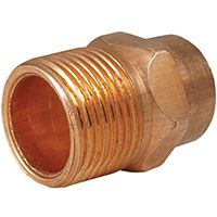 ADAPTER MALE COPPER 1/2