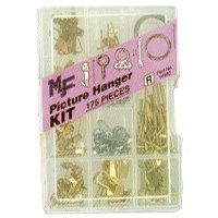 HANGER PICTURE KIT 175PC ASSTD