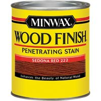 FINISH WOOD SEDONA RED 1/2PINT