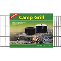 GRILL CAMP STEEL H DTY 12X24IN