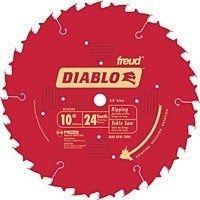 Diablo D1024X Circular Saw Blade, 10 in Dia, Carbide Cutting Edge, 5/8 in Arbor, Steel