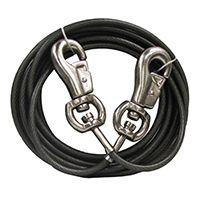 Boss Pet PDQ Q684000099 Super-Beast Tie-Out, 40 ft L Belt/Cable