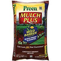 Preen 52050661 Mulch Plus Weed Barrier