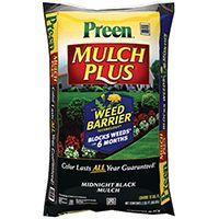 Preen 95456138 Mulch Plus Weed Barrier Bag