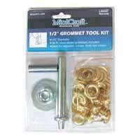 MintCraft Jl-Vt159883L Grommet Tool Kit, 30 Pieces, 1/2 In