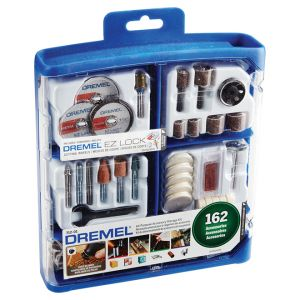 Dremel 162 Piece Accessory kit