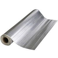 MFM 50042/50006 Roofing Membrane, 33-1/2 ft L, 100 sq-ft Coverage Area, Aluminum/Polymer