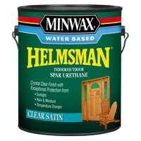 Minwax Helmsman 71052 Spar Urethane Paint, Crystal Clear, 1 gal Can