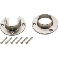 FLANGE SET STN NCKL FINISH