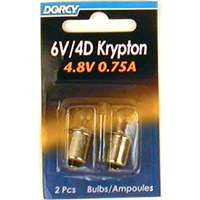 Dorcy 41-1663 Replacement Bulb, 4.8 V, Krypton Lamp