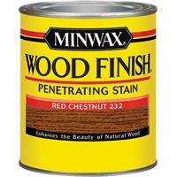 FINISH WOOD RED CHESTNUT 1/2PT