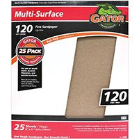 SANDPAPER AL OX 9X11IN 120GRT