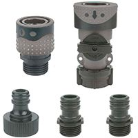 CONNECTOR FAUCET/HOSE QCK POLY