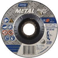 WHEEL GRIND METAL ALOX 4-1/2IN