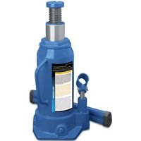 ProSource Heavy Duty Hydraulic Bottle Jack, 12 Ton, 9-1/16 - 18-5/16 In H, Steel