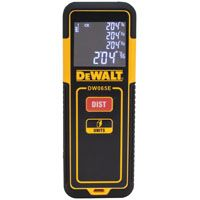 DeWALT DW065E Laser Distance Measurer, AAA Battery, LCD Display