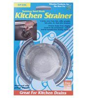 STRAINER SINK KITCHEN MESH SS