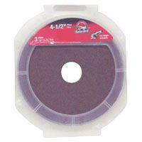 Gator 3073 Fiber Disc, 36-Grit, Extra Coarse Grade, Aluminum Oxide, 4-1/2 in Dia